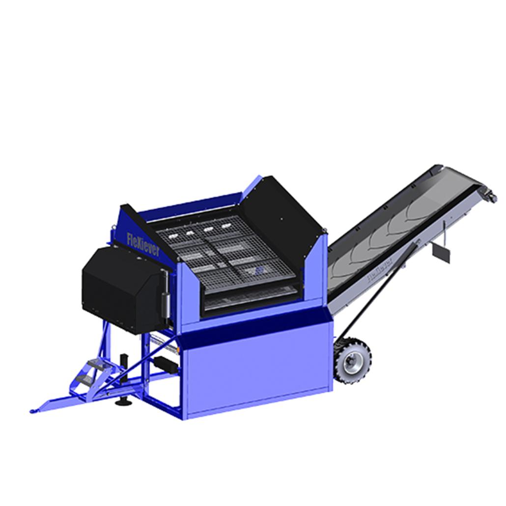 FleXiever Conveyor mobile screener