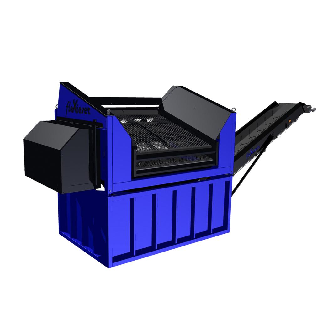 FleXiever conveyor fixed screening machine
