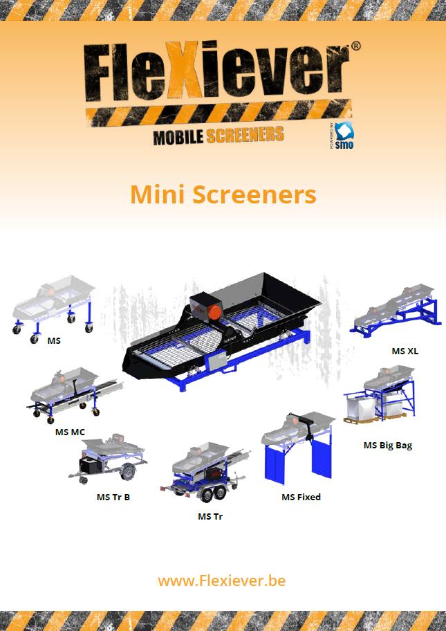 Mini Screeners range brochure