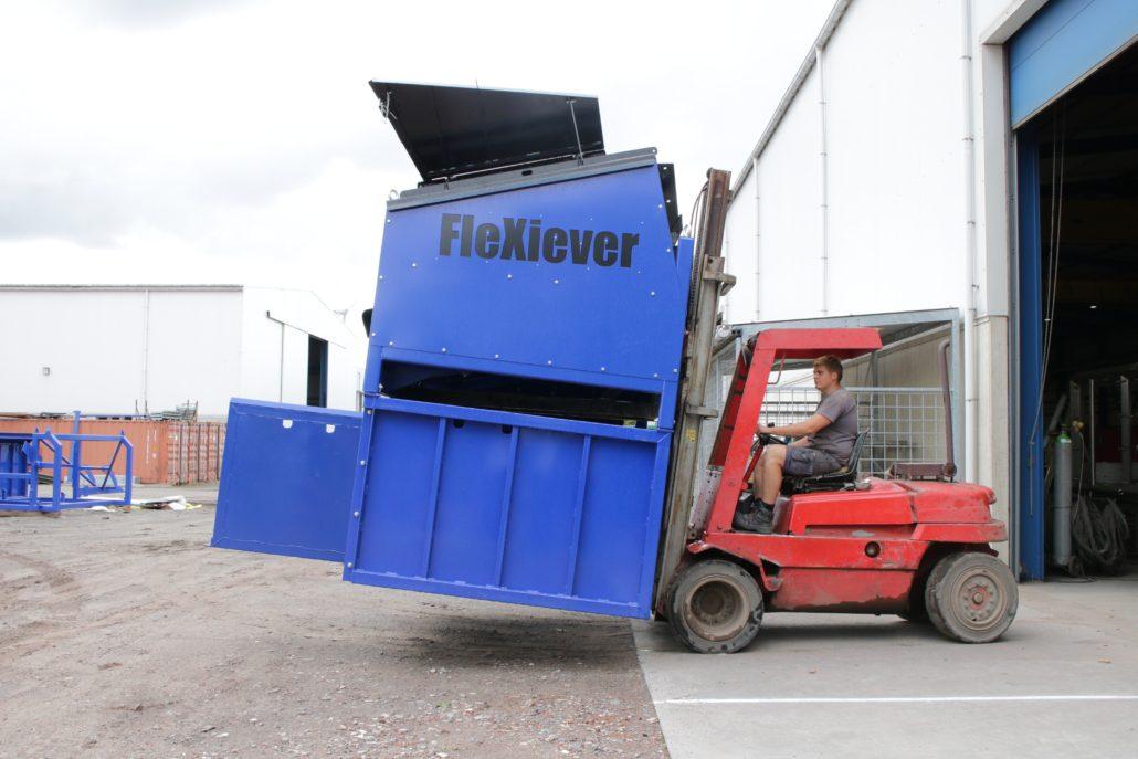 Flexiever FIXED zeefmachines