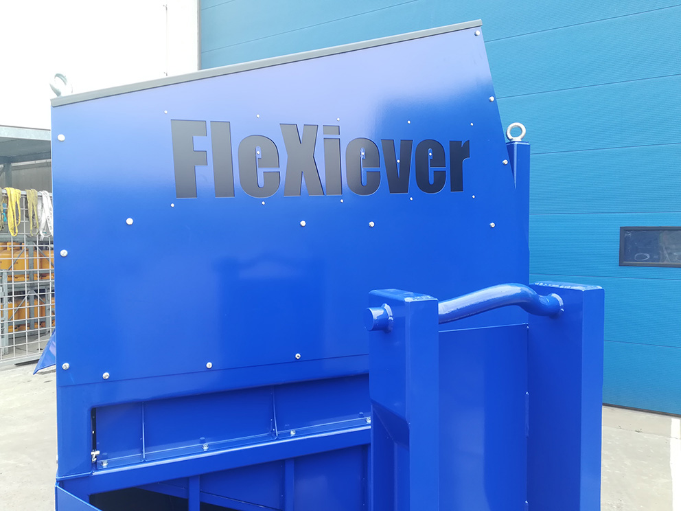 FleXiever Skid Fixed zeefmachine