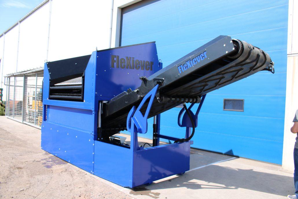 FleXiever zeefmachine SKID 2 FRACTIES