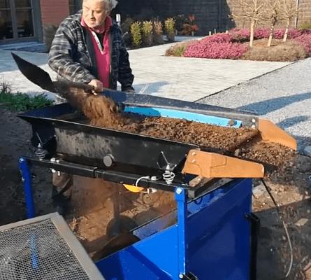 FleXiever Garden grondzeef grond met stenen