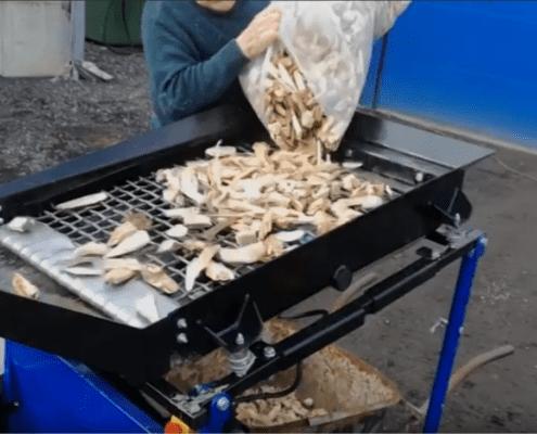FleXiever Garden zeefmachine houtsnippers