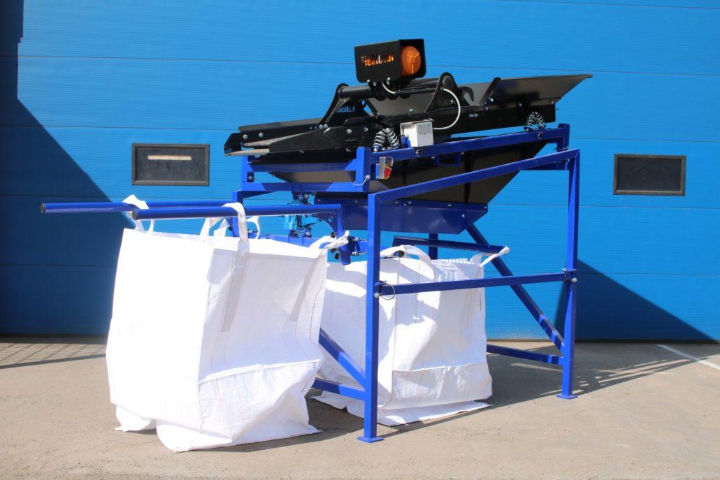 FleXiever Mini Screener Big Bag zeefmachine