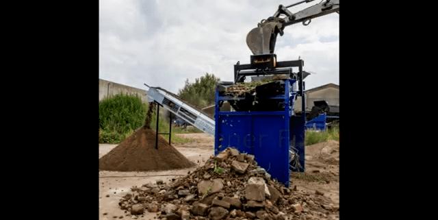 FleXiever Fixed zeven grond met stenen