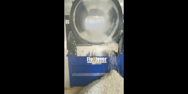 FleXiever Drum recycleren gipskarton