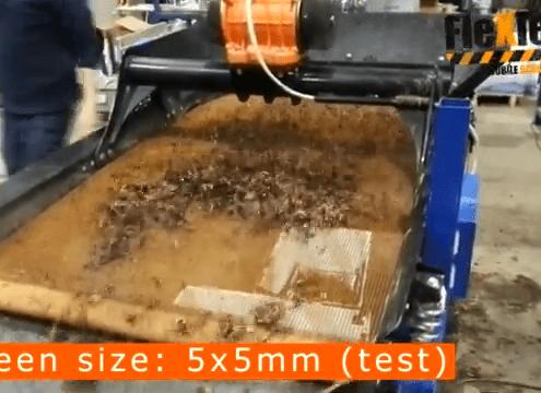 FleXiever Mini Screener zeven regenwormen