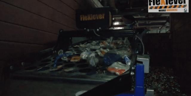 FleXiever Mini screener zeven pmd afval