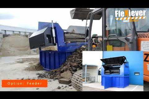FleXiever Fixed screening stones